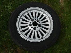 BMW 5 Series E39 alloy wheel.