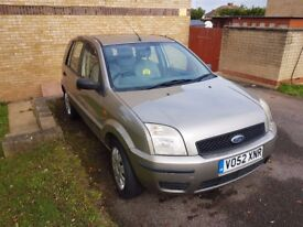 Ford Fusion 1.4 1 5dr