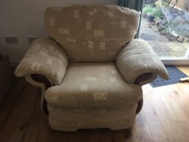 3 seater sofa and armchair