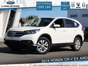 2014 Honda CR-V EX**AWD*TOIT*CAMERA*BLUETOOTH*A/C**