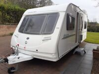 2008 Sterling Europa 4 berth touring caravañ