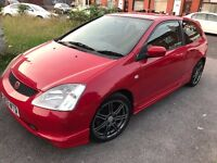 2003 Honda Civic Hatchback MK 7 2.0 i Type R Hatchback 3dr with full service history