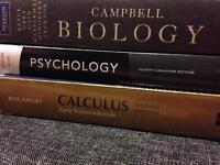 Trent first year textbooks