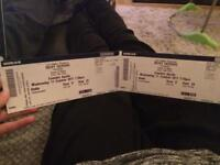 2 Ricky Gervais Humanity tickets Wednesday 11th October £110 London