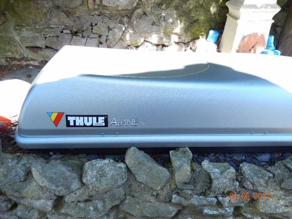 roofbox thule alpine 700 in rhyl denbighshire gumtree. Black Bedroom Furniture Sets. Home Design Ideas