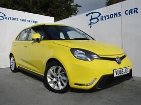 MG MOTOR UK MG3 1.5 VTi-TECH 3Form Sport (yellow) 2015