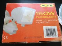 Colour CCTV System indoor or outdoor use and 150w white floodlight