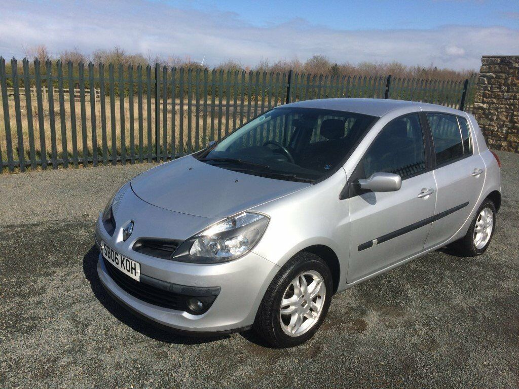 2006 06 RENAULT CLIO 1.4 DYNAMIQUE 5 DOOR HATCHBACK - JUNE 2017 M.O.T - IDEAL 1st CAR, BARGAIN PRICE