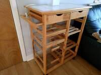 Kitchen trolley unit