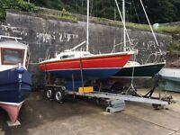 Pandora MK 2 International Sailing Yacht boat