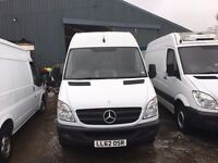 MERCEDES SPRINTER LONG WHEEL BASE FRIDGE VAN.2012.ONE OWNER.EXCELLENT RUNNER