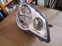VW Polo 2005-09 Farside/Driver Front Headlight/Headlamp (no light bulbs)