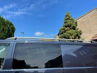 VW Transporter LWB Roof Bars Silver