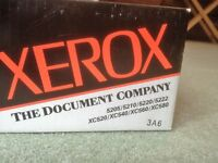 GENUINE XEROX 6R589 BLACK TONER CARTRIDGE