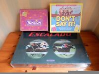 Classic 1997 Escalado Chad Valley Horse racing Game, unopened & 2 other