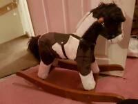 Rocking horse. Slightly damaged