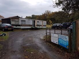 Caravan used for storage and winter shelter free but you will need to arrange transport.
