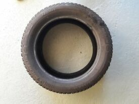 3 x Michelin Alpin Winter Tyres 195 50R 15 82H