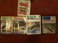 approx 50 model rail magazines, 1978 onwards
