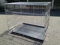 Metal Dog Cage medium size