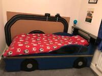 Boys single car bed