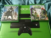 Xbox one with Kinect 500GB headset, games and more