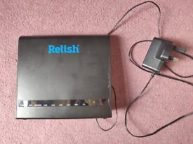 Relish - Wi-Fi Router Modem 4G
