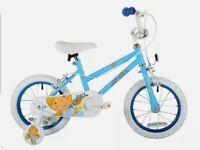 Sonic Angel girls 14-inch Bike, Blue