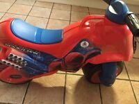 Ride On Spiderman Motorbike