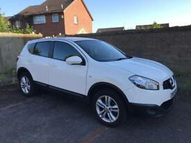 2012 NISSAN QASHQAI 1.6 DCI ACENTA FULL UP TO DATE HISTORY £30 TAX A YEAR DRIVES LOVELY