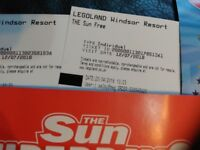 2 x LEGOLAND Tickets