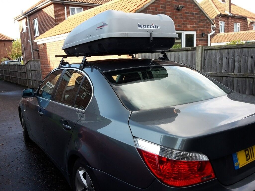 Large Top Box and Roof Bars For Most Saloon Cars.