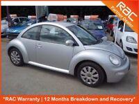 Volkswagen Beetle 1.6 3dr,silver