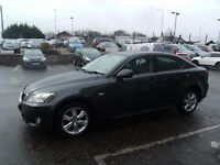 2008 08 LEXUS IS 2.2 220D 4D 175 BHP **** GUARANTEED FINANCE **** PART EX WELCOME ****
