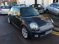 MINI COOPER ONE 1.4 PETROL BLACK 2007 3 DOOR FULL SERVICE HISTORY 2 OWNERS HPI CLEAR