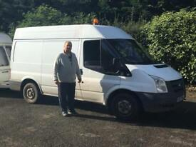 Ford Transit (possible turbo failure)