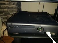 Xbox 360 S with Skylanders and other games