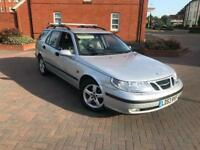 2003/53 SAAB 9-5 2.0 T AUTOMATIC ESTATE FULL SERVICE HISTORY LONG MOT 1F KEEPER LOW MILEAGE LEATHERS