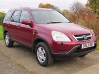 !!4X4!! 2003 HONDA CRV 2.0 VTEC / LONG MOT / SERVICE HISTORY / 5 DOOR / MANAUL / IDEAL FOR SNOW
