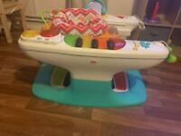Baby piano activity centre