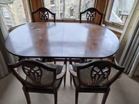 Free to a good home - table and chairs