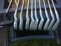 Golf club set (Malibu) plus bag