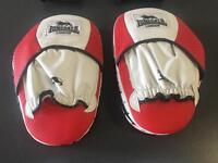 Lonsdale 12oz training gloves and hook and jab pads