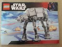 Lego star wars motorised walking AT-AT 10178