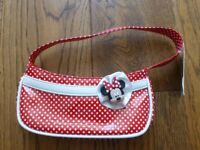 Minnie Mouse Red polka dot bag from Disney brand new never used