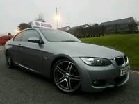 "July 2009 BMW 320d M Sport Highline Coupe, Tan Dekota Leather! Xenons! 19"" BMW M PERFORMANCE Alloys!"