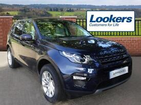 Land Rover Discovery Sport TD4 SE TECH (blue) 2016-09-14