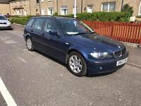 Bmw 320d se touring blue full leather £300 if gone today