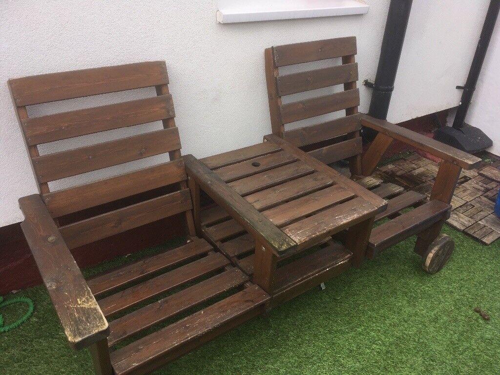 garden furniture kissing bench in wallasey merseyside gumtree