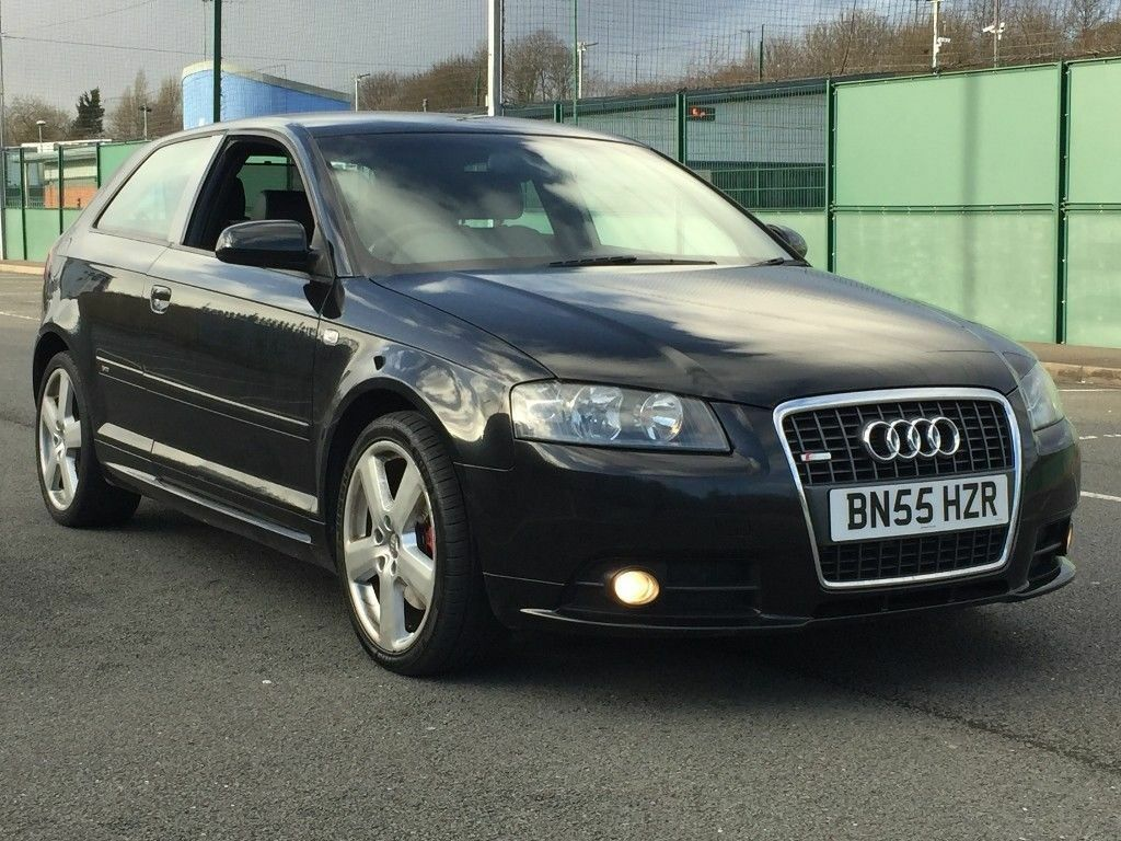2006 audi a3 2 0 tfsi quattro s line 3 door h leather bose f s h part ex delivery. Black Bedroom Furniture Sets. Home Design Ideas